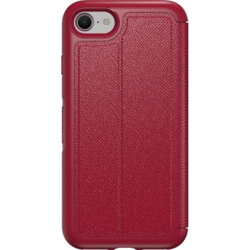 OtterBox Symmetry Folio Wallet Flip Case Cover Apple iPhone 7 Red Cherry