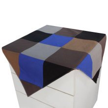 Canvas Grid Refrigerator Dust Cover Cabinet Dustproof Cloth Tablecloth