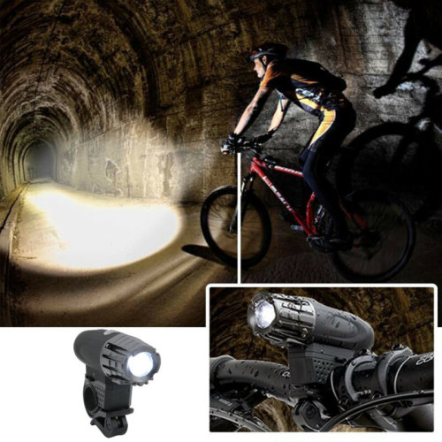Pretty LED Bike Bicycle Front Headlight USB Rechargeable Set and Rear Tail Light