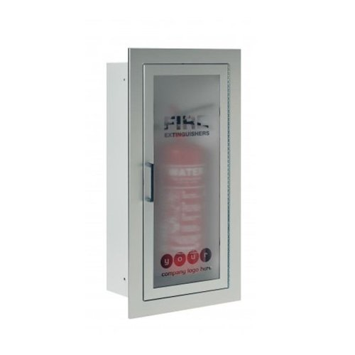 Fire Chief Architectural Extinguisher Steel Recessed Single Cabinet