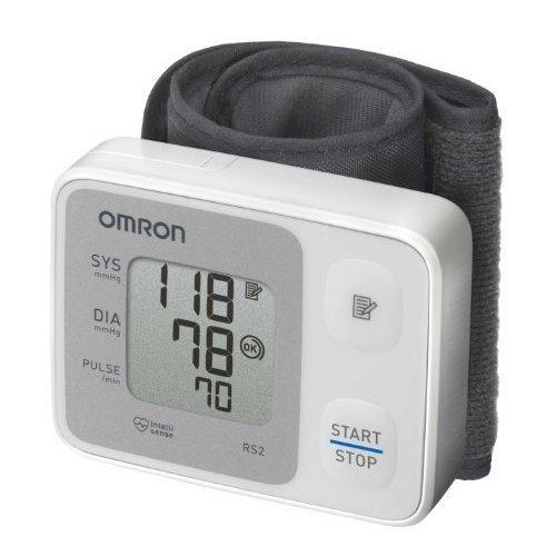 Omron Wrist Bp Monitor Rs2 -  wrist omron blood pressure monitor rs2 intellisense digital memory hem6121 30 automatic