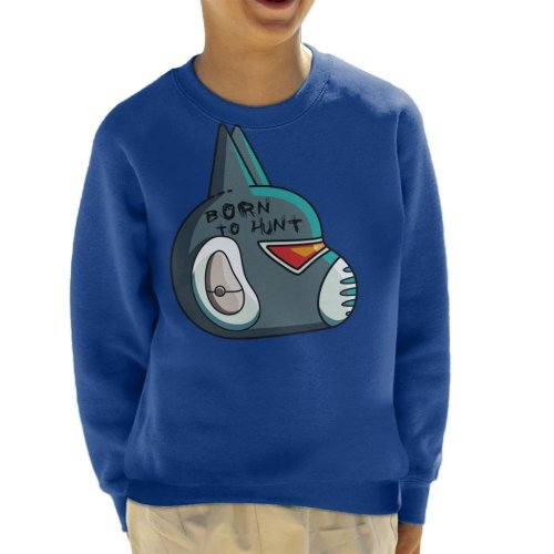 Final Space Avocato Helmet Kid's Sweatshirt