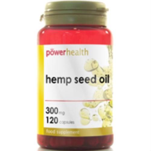 Power Health Hemp Seed Oil 300mg 120 Caps