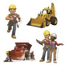 Bob the Builder 4-in-1 Shaped Jigsaw Puzzles