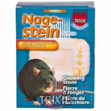 Gnawing Mineral Stone Treat For Rats - Trixie 180 Rat Carrot Extract -  gnawing stone trixie 180 rat rats carrot extract