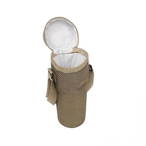Insulated Bottle Cooler in Brown