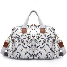 Miss Lulu 4pcs Baby Nappy Diaper Changing Bag Set Bird Flower Print