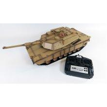 Heng Long 1/16 M1A2 Abrams RC Tank With Smoke, Sound and BB Gun 2.4GHz