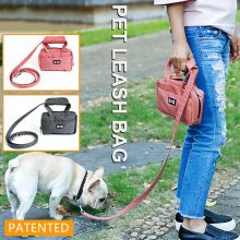 Dog Treat Training Pouch Easily Carries With Leashes