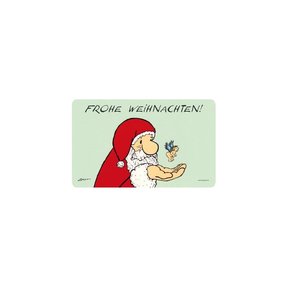 Loriot Weihnachten.Inkognito Breakfast Board With Loriot And German Text Frohe Weihnachten Merry Christmas