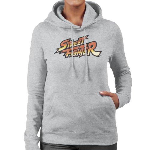 Street Fighter Logo Women's Hooded Sweatshirt