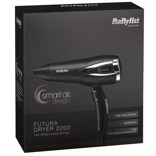 BaByliss Futura Women's Hair Dryer 1700W Ionic Frizz-Control - 3 Heat & 2 Speed