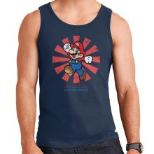 Super Mario Retro Japanese Men's Vest