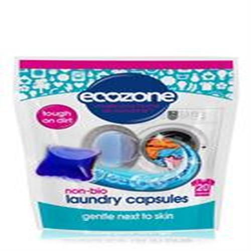 Ecozone Non Bio Laundry Liquid Capsules 20 Capsules