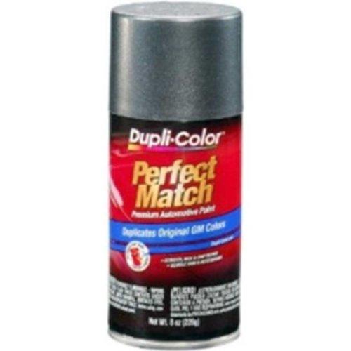 Krylon BGM0347 8 oz General Motors Exact-Match Automotive Paint, Medium Gray Metallic