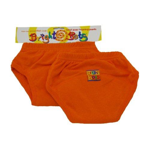 Bright Bots 2pk Washable Training Pants Orange