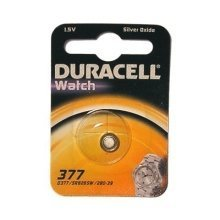 Duracell D377 Silver-Oxide 1.5V non-rechargeable battery