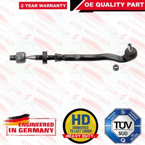 FOR BMW 5 SERIES E39 FRONT RIGHT INNER OUTER STEERING TIE TRACK ROD END ASSEMBLY