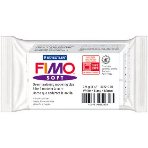 FIMO Soft Oven-Bake Clay 8oz-White