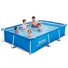 Bestway Steel Pro Rectangular Swimming Pool 259x170x61cm 56403