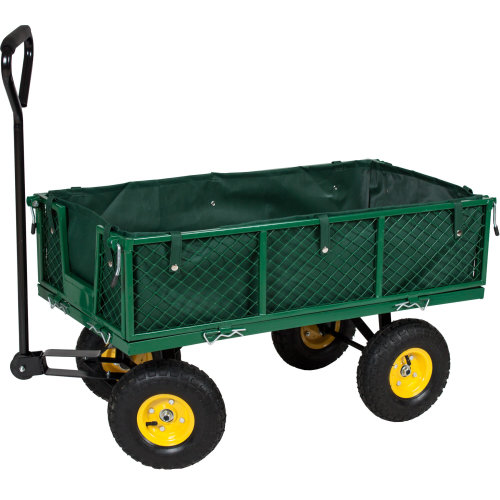 Garden trolley with inner lining max. 350 kg