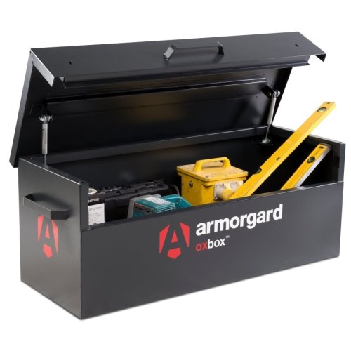 Armorgard OxBox OX2 Secure Truck Van Vault Storage Safe Box 1215x490x450mm