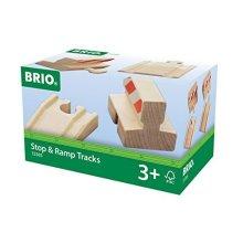 BRIO Track - Ramp & Stop Pack
