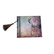 Artistic Chinese Style Schedule Book Diary Business Notebook, Phoenix