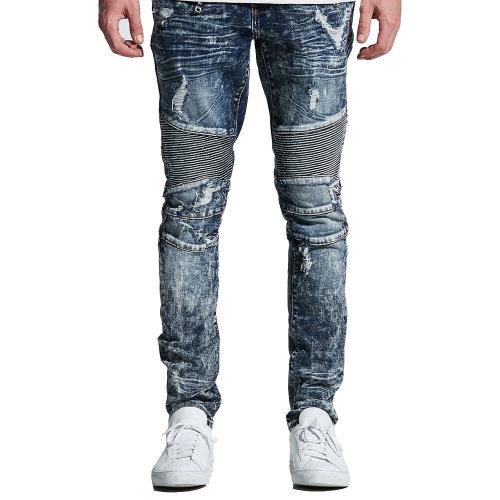 Embellish Tanner Biker Denim Jeans