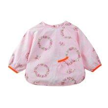 Lovely Baby Bibs Feeding Bib Kid's Apron Overclothes Waterproof Long Sleeves Art Smock NO.06