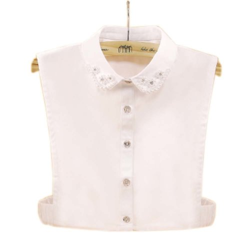 Elegant Women's Fake Half Shirt Blouse Collar Detachable Collar, #03