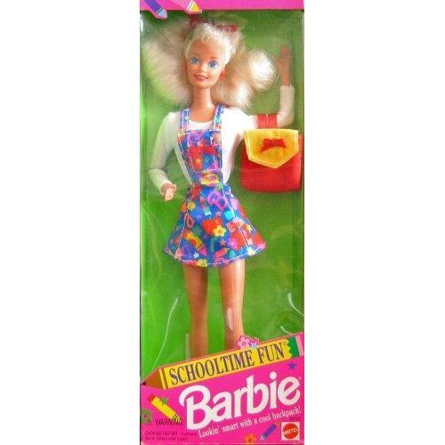 Schooltime Fun BARBIE Doll Special Edition (1994)