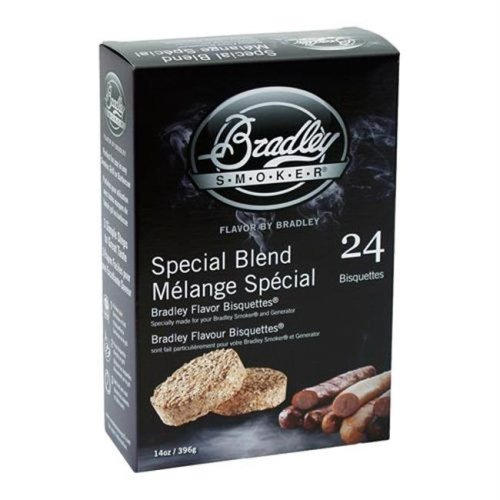 Bradley Smoker BTSB24 Special Blend Bisquettes 24 Pack
