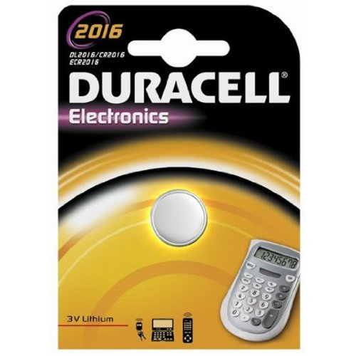 Duracell 3 V Coin Cell Lithium Battery (Model No. DL2016)