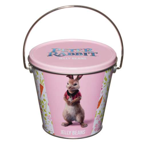 Licensed Peter Rabbit Flopsy English Jelly Beans in Bucket (FL-JB)