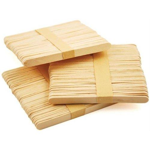 491946 Craft Popsicle Sticks-4.5 in. 150-Pkg