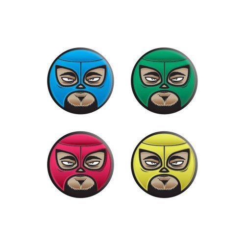 Grindstore Lucha Libre Badge Pack