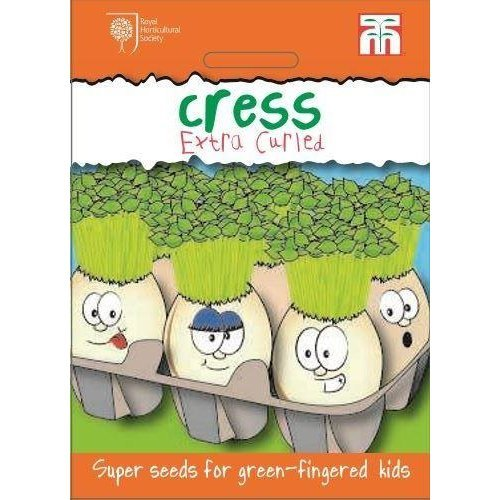 Thompson & Morgan - Vegetables - RHS Kids - Cress Extra Curled - 2000 Seed