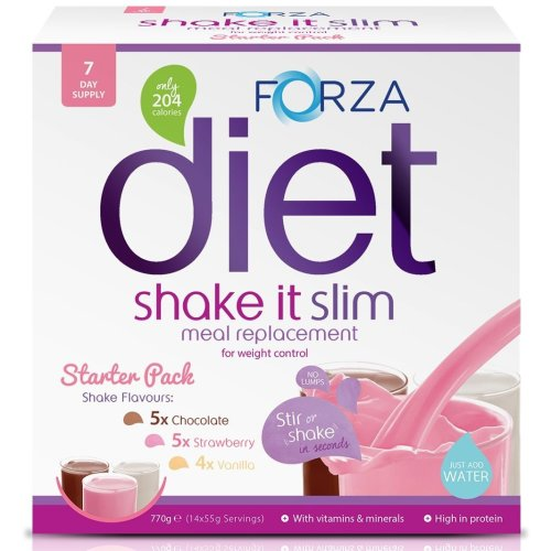 FORZA Shake It Slim Meal Replacement Shake Starter Pack