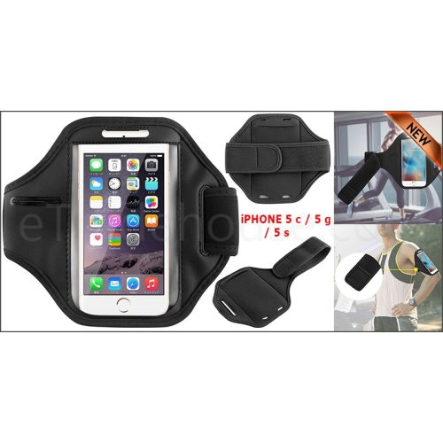 Apple Gym Running Jogging Sports Armband Holder For iPhone 5c / 5g / 5s