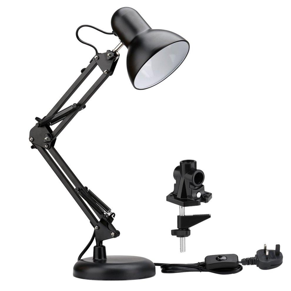 Multi-Joint Adjustable Arm Desk lamp Dimmable LED Work Desk ...