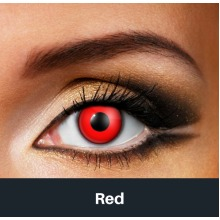 Red Contact Lenses - Halloween Contact Lenses
