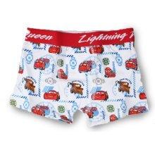 Cars Boxer Shorts - White