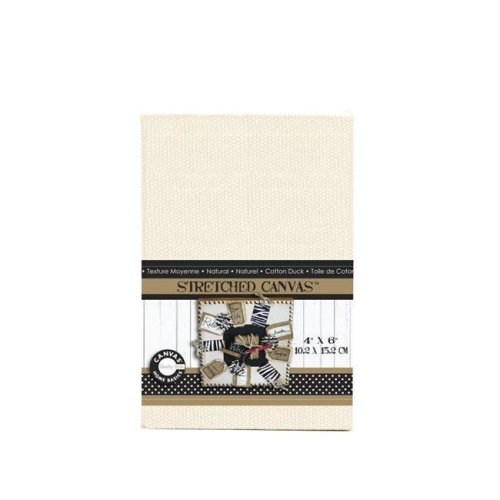 Canvas CVS1131 3 in. Stretched Natural Canvas