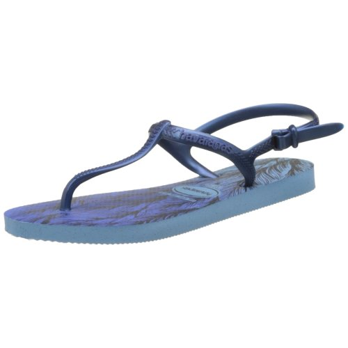 Havaianas Freedom Print, Women's Strap sandals, Lavender Blue, 5 UK (37/38 BR) (39/40 EU)