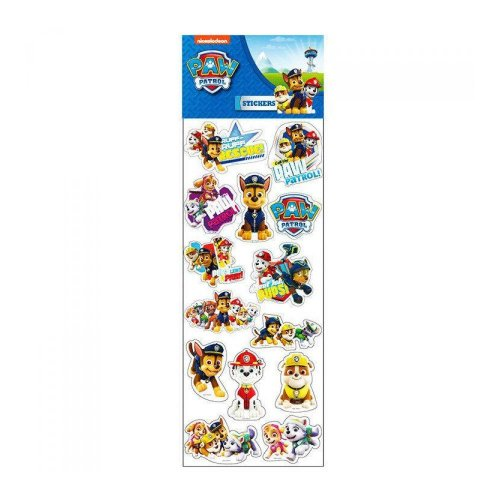 Paw Patrol Epoxy Stickers Puffy Sticker Sheet