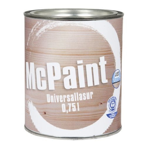 Mcpaint Universal UV for interior and exterior wood, stain -esistant, colour Birch, 0.75l