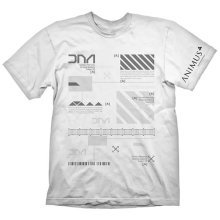 Assassins Creed Mens Animus Powered By Abstergo Industries T-Shirt S White GE1800S