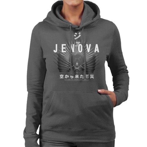 Jenova Calamity From The Skies Final Fantasy VII Women's Hooded Sweatshirt
