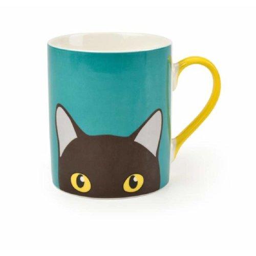 Burgon & Ball Creaturewares GCR/CATMUG Doris' Cat Fine China Mug